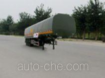 荣昊牌SWG9402GHY型化工液体运输半挂车