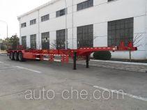 荣昊牌SWG9402TJZG型集装箱运输半挂车