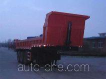 荣昊牌SWG9403TZX型自卸半挂车