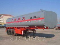 荣昊牌SWG9405GRY型易燃液体罐式运输半挂车