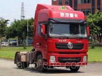 陕汽牌SX4180XC1W型危险品牵引汽车