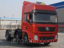 Shacman SX42564T279W седельный тягач для перевозки опасных грузов