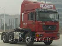 Shacman SX4257NR324K container transport tractor unit