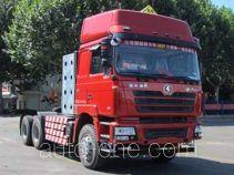 Shacman SX4258NV384TW седельный тягач для перевозки опасных грузов