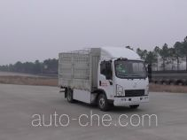 Shacman SX5040CCYBEV2 electric stake truck