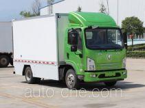陕汽牌SX5040XXYBEV5型纯电动厢式运输车