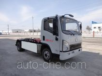 Shacman electric hooklift hoist garbage truck