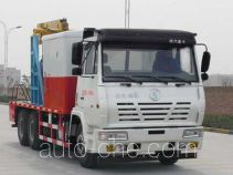 Shacman SX5186TCY2 well servicing rig (workover unit) truck