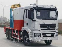 Shacman SX5190TCY well servicing rig (workover unit) truck