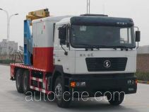 Shacman SX5195TCY well servicing rig (workover unit) truck