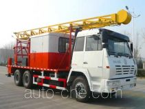 Shacman SX5196TCY well servicing rig (workover unit) truck