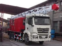 Shacman SX5210TCY well servicing rig (workover unit) truck