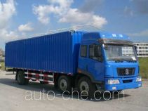 Shacman SX5250XXYJP soft top box van truck
