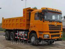 陕汽牌SX5250ZLJDB424A型自卸式垃圾车