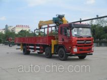 Shacman SX5254JSQGP4 truck mounted loader crane
