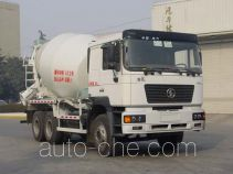 陕汽牌SX5255GJBJR404型混凝土搅拌运输车