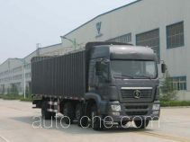 Shacman SX5310GP3PY soft top box van truck