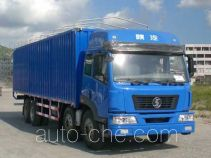 Shacman SX5310XXYRP soft top box van truck