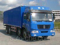 Shacman SX5310XXYSP soft top box van truck