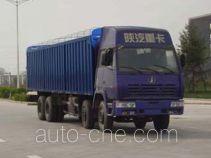 Shacman SX5315XXYUR306 soft top box van truck