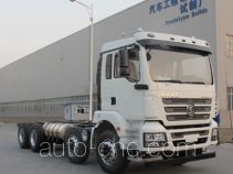 Shacman concrete mixer truck chassis
