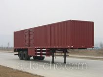 Shacman SX9341XXY box body van trailer