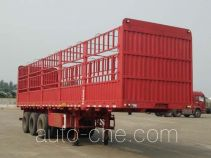 陕汽牌SXD9400CCY型仓栅式运输半挂车