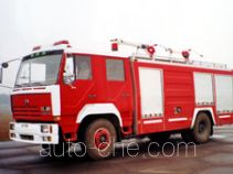 Chuanxiao SXF5160TXFGP40T foam powder combined fire engine