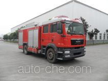 Chuanxiao SXF5170GXFAP50/MB пожарный автомобиль тушения пеной класса А