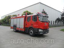 川消牌SXF5170GXFGF40型干粉消防车