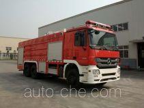 Chuanxiao SXF5280GXFSG120B fire tank truck