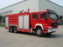 Chuanxiao SXF5280TXFGP100/HW1 dry powder and foam combined fire engine