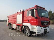 Chuanxiao SXF5320GXFSG160/M1 пожарная автоцистерна