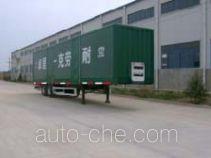Zhuoli - Kelaonai SXL9231XXY box body van trailer