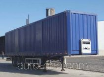 Zhuoli - Kelaonai SXL9340XXY box body van trailer
