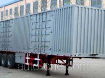 Zhuoli - Kelaonai SXL9380XXY box body van trailer