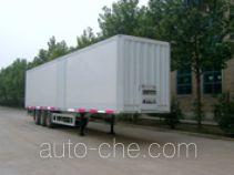Zhuoli - Kelaonai SXL9381XXY box body van trailer