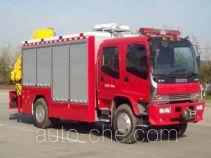 Jinhou SXT5130TXFJY120 fire rescue vehicle