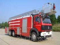 Jinhou SXT5250JXFYT30 aerial ladder fire truck