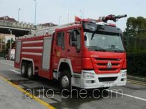 Jinhou SXT5291GXFPM130 foam fire engine