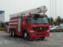 Jinhou SXT5302JXFJP25 high lift pump fire engine
