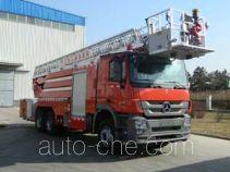 Jinhou SXT5310JXFYT32 aerial ladder fire truck