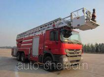 Jinhou SXT5321JXFYT40 aerial ladder fire truck