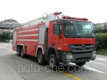 Jinhou SXT5413JXFJP18 high lift pump fire engine