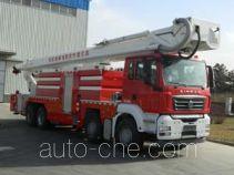 Jinhou SXT5430JXFJP60 high lift pump fire engine