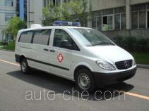 金杯牌SY5030XJH-B1ZBV型救护车