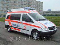 金杯牌SY5030XJHG-B1ZBV型救护车
