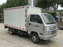 金杯牌SY5030XXYDAK-EV2型纯电动厢式运输车