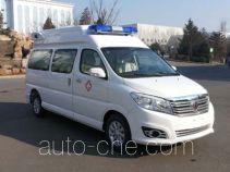 金杯牌SY5032XJHJ-G9S1BG型监护型救护车