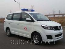 华颂牌SY5033XJH-S1Z1BG型救护车